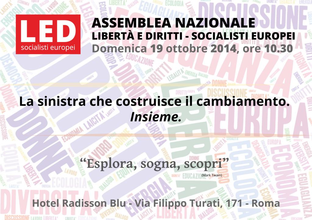 Assemblea Nazionale LED - 19 ottobre 2014 (1)